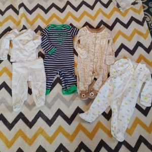 New Born Lot - 4 Outfits